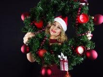 Het meisje van Kerstmis Royalty-vrije Stock Fotografie