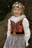 Het meisje van Krakau Royalty-vrije Stock Afbeeldingen