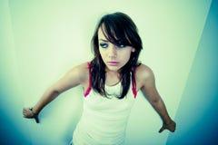 Het Meisje van Loney stock afbeelding