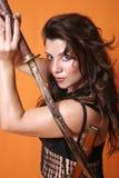 Het Meisje van Metail Royalty-vrije Stock Fotografie