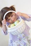 Het meisje van Pasen Stock Fotografie