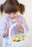 Het Meisje van Pasen Stock Afbeeldingen