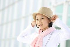 Het meisje van Protraityong Royalty-vrije Stock Afbeelding