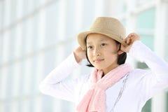 Het meisje van Protraityong Royalty-vrije Stock Foto's