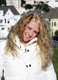 Het meisje van San Francisco. Royalty-vrije Stock Foto's