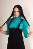Het meisje van Smiley Royalty-vrije Stock Foto's