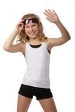 Het meisje van sporten royalty-vrije stock fotografie
