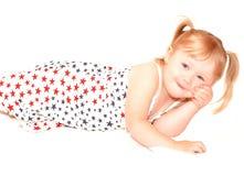 Het Meisje van sterren Stock Fotografie