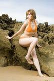 Het meisje van Swimwear Royalty-vrije Stock Fotografie