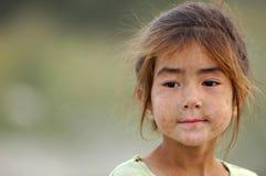 Het meisje van Uyghur Royalty-vrije Stock Foto