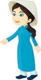 Het meisje van Viet Royalty-vrije Stock Foto's