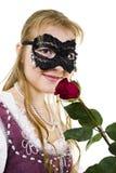 Het meisje van Zorro Royalty-vrije Stock Foto's