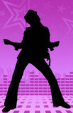 Het meisjesdans van de disco Royalty-vrije Stock Fotografie
