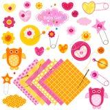 Het meisjeselementen van de baby Stock Fotografie