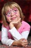 Het meisjesportret van Carnaval Royalty-vrije Stock Foto
