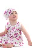 Het meisjesportret van de baby Royalty-vrije Stock Afbeelding