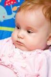 Het meisjesportret van de baby Stock Fotografie
