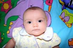 Het meisjesportret van de baby Royalty-vrije Stock Foto