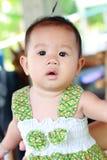 Het Meisjesportret van de baby Leuk Baby royalty-vrije stock afbeelding