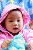 Het Meisjesportret van de baby Leuk Baby royalty-vrije stock afbeeldingen