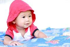 Het Meisjesportret van de baby Leuk Baby royalty-vrije stock foto