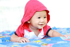 Het Meisjesportret van de baby Leuk Baby royalty-vrije stock foto's