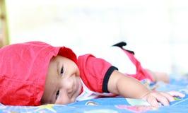 Het Meisjesportret van de baby Leuk Baby stock afbeeldingen