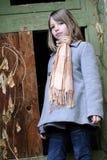 Het meisjesportret van de blonde Royalty-vrije Stock Afbeelding