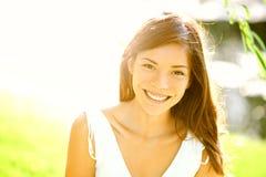 Het meisjesportret van de zomer Royalty-vrije Stock Fotografie