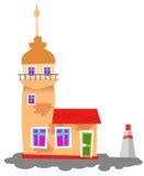 Het meisjetoren van Istanboel vector illustratie