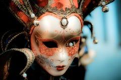 Het melancholie verlaten masker royalty-vrije stock afbeeldingen