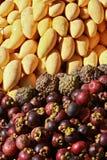 Het mengsel van vruchten   stock foto
