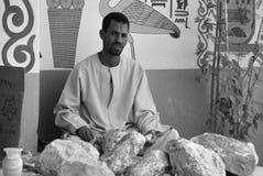 Het mensenwerk voor uitgraving van graven royalty-vrije stock afbeeldingen