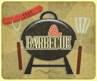 Het Menu van de barbecue Royalty-vrije Stock Foto