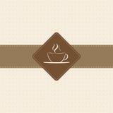 Het Menu van de koffie Royalty-vrije Stock Foto
