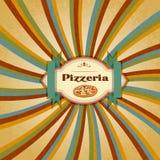 Het Menu van de pizza Royalty-vrije Stock Foto