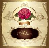 Het menu van het ontwerp Royalty-vrije Stock Fotografie