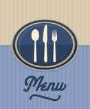 Het menu van het restaurant Royalty-vrije Stock Fotografie