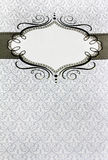 Het menu van het restaurant, uitstekend ontwerp met plaats voor tex Royalty-vrije Stock Afbeeldingen