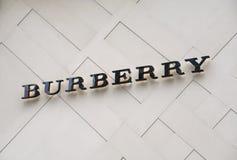 Het merk van Burberry royalty-vrije stock fotografie
