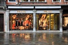 Het merk van de luxe - Prada Royalty-vrije Stock Afbeeldingen