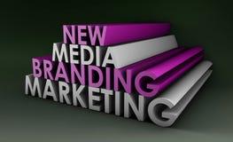 Het Merk van de marketing Stock Fotografie