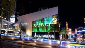 Het merk van Dolcegabana, de Strook van Las Vegas, Las Vegas, de V.S., stock videobeelden
