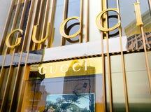 Het merk van GUCCI Stock Afbeeldingen