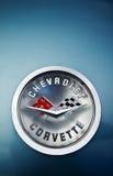 Het merk van het Korvet van Chevrolet royalty-vrije stock foto's