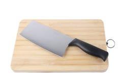 Het mes van de keuken royalty-vrije stock afbeeldingen