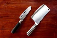 Het mes van de keuken Stock Afbeelding