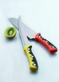 Het mes van de keuken Stock Foto