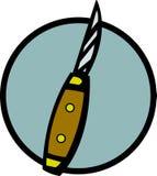 Het mes van de zak royalty-vrije illustratie