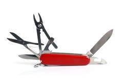 Het mes van de zak Stock Foto's